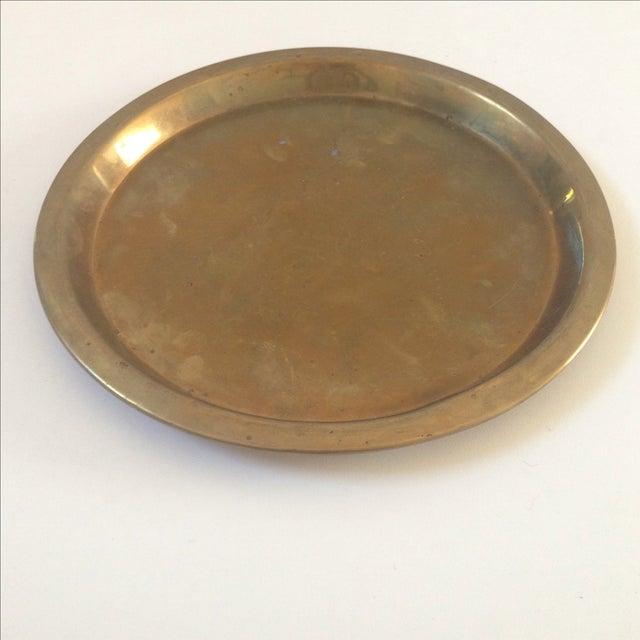 Vintage Brass Plate 3