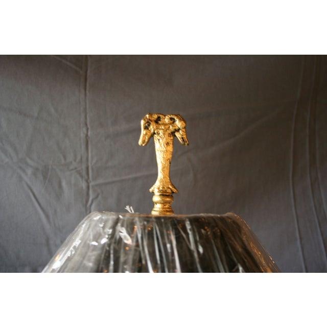 Modern Brass Floor Lamp - Image 8 of 10