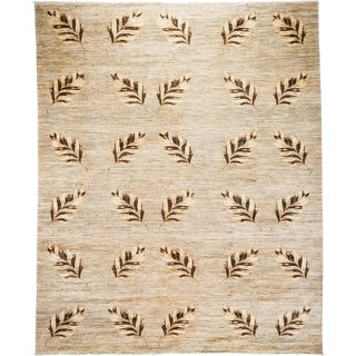 """New Transitional Hand Knotted Rug - 8' 3""""x10' 3"""""""