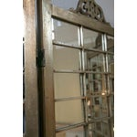 Image of Hollywood Regency Mirror & Silver Gilt Screen