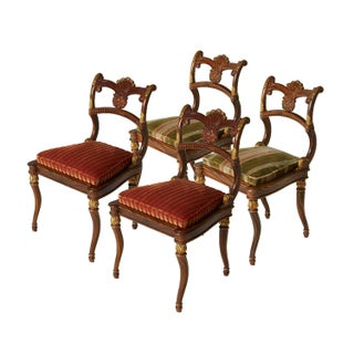 Neoclassical French Empire Style Chairs