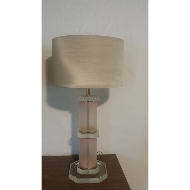 Lucite Lamps - Pair - Image 5 of 5