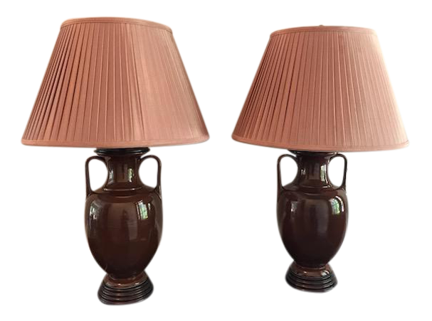 frederick cooper table lamps a pair