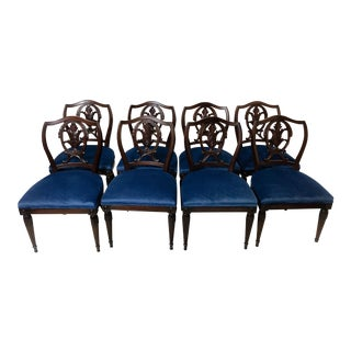 1940s Italian Dining Chairs - Set of 8