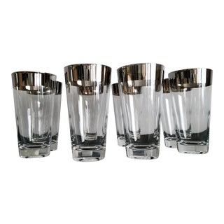 Mid-Century Modern Bar Glasses - Set of 8