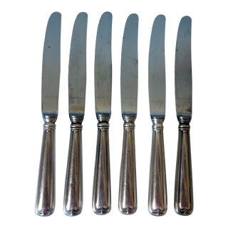 Kochberg Continental Silverplate Luncheon Knives - Set of 6