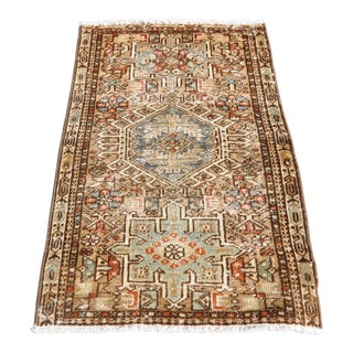 1930's Small Vintage Rug - 1′9″ × 2′8″