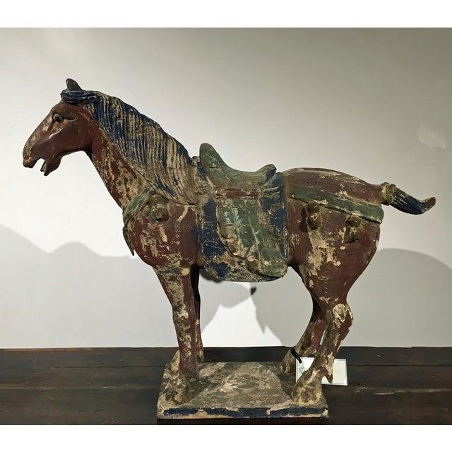 Image of Antique Horse Statue