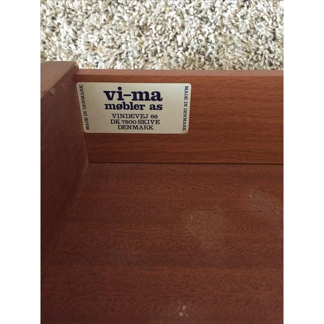 Danish Teak Vi-Ma Drop Leaf Desk - Image 9 of 11