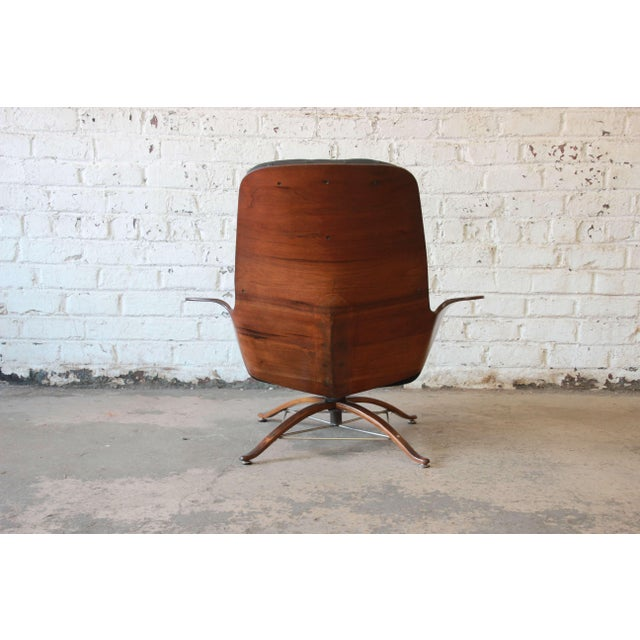 """George Mulhauser for Plycraft """"Mr. Chair"""" and Ottoman - Image 7 of 10"""