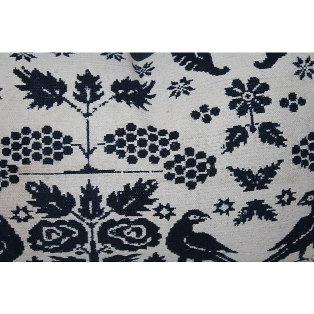 Image of Pair of 19th Century Lancaster Co. Coverlet Pillows