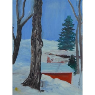 MCM Sugar Shack Painting by H.L. Musgrave