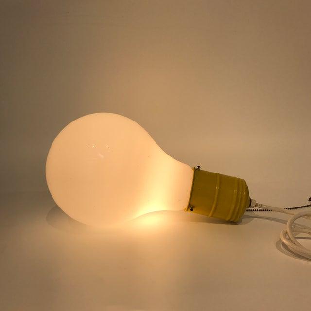 Image of Pop Art Lightbulb Lamp