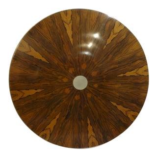 Rosewood & Aluminum Table Top
