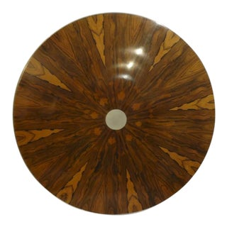 Rosewood & Aluminum Table Top