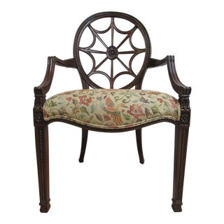 Ethan Allen Townhouse Spider Back Side Chair