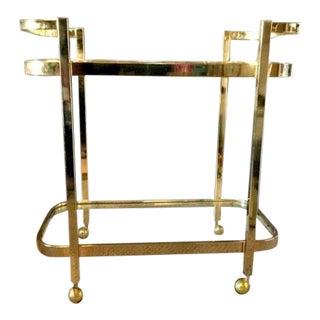 Vintage Mid-Century Modern Milo Baughman Bar Cart