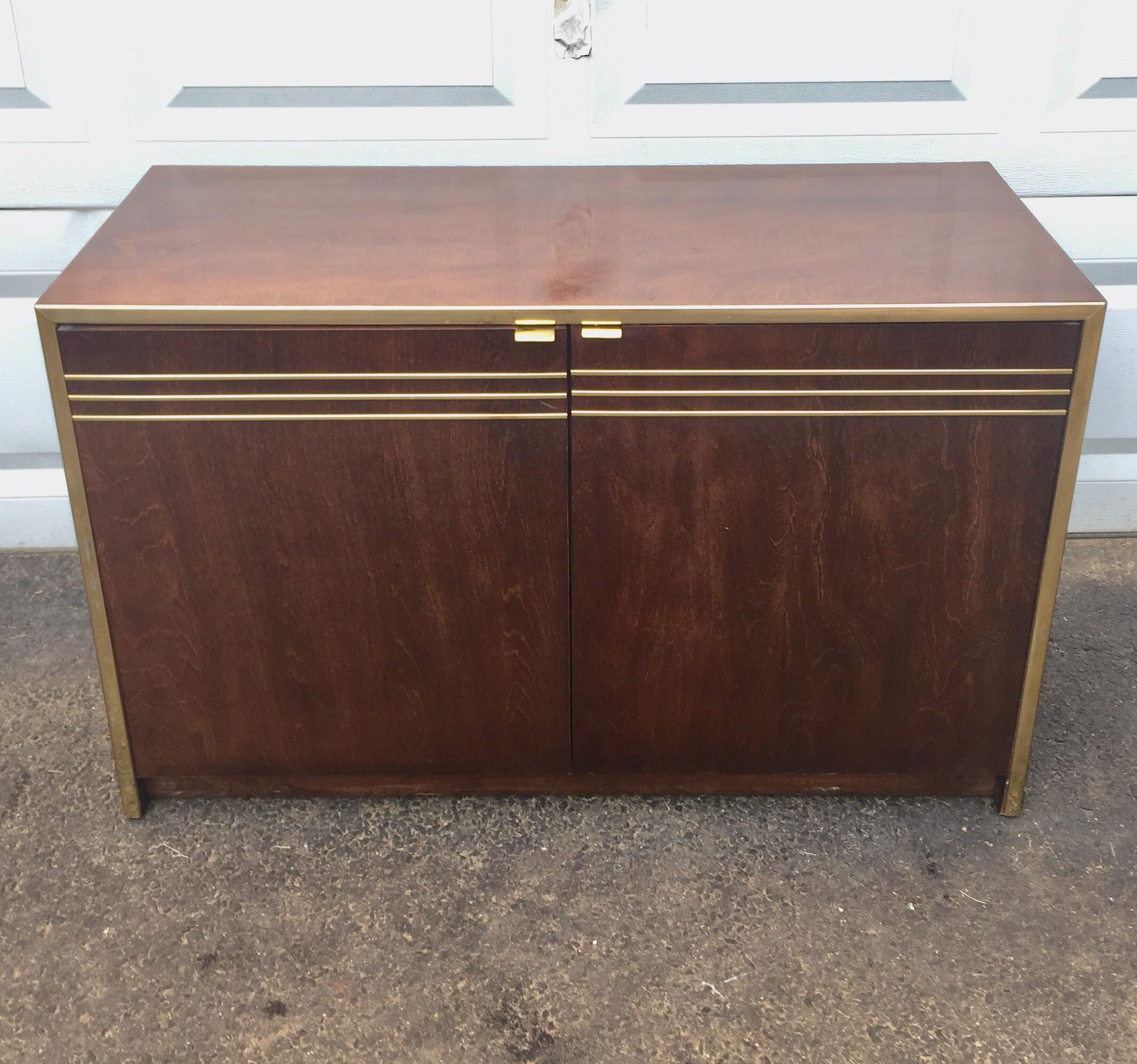 Founders Mid Century Modern Storage Credenza   Image 3 Of 11