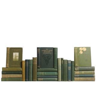 Vintage Green Books - S/25