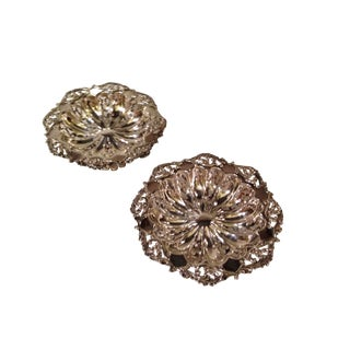Reed & Barton Sterling Silver Footed Berry Bowls