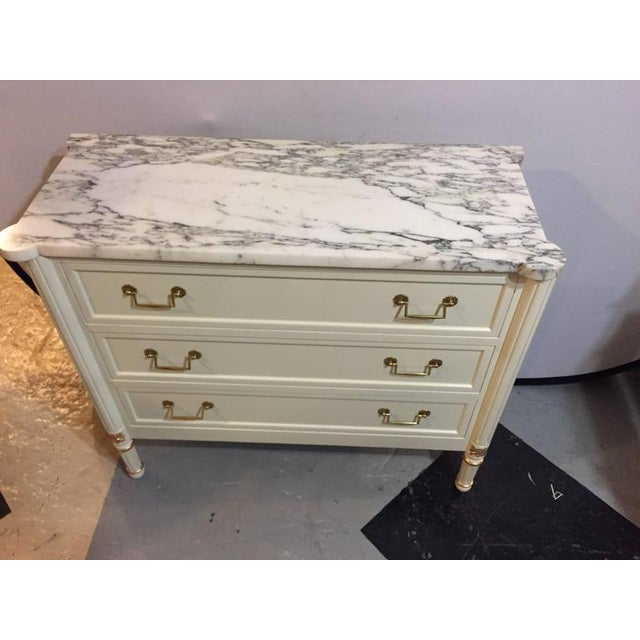 Hollywood Regency Louis XVI Style Commode - Image 2 of 9