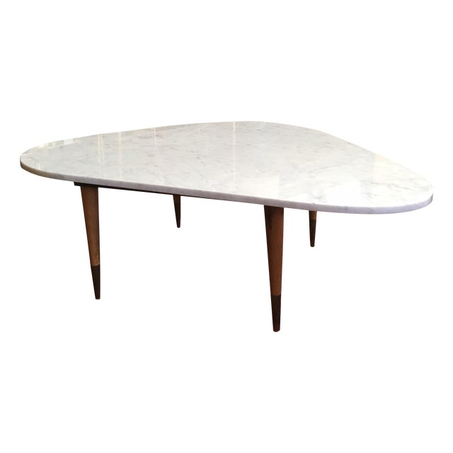 Mid Century Italian Marble Coffee Table