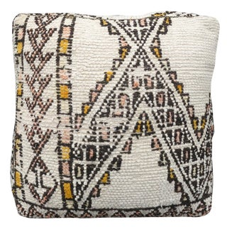 White Moroccan Floor Pillow