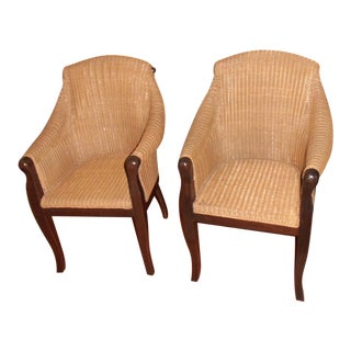 BONDT Caned Chairs - A Pair