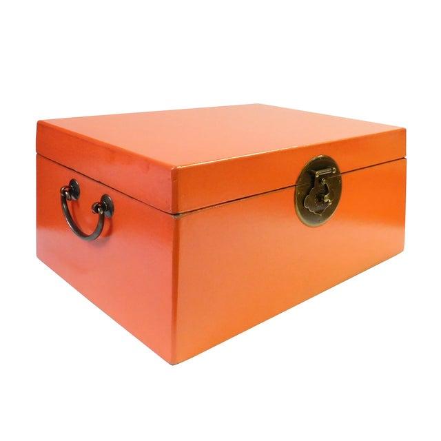 Orange Rectangular Container Box - Image 3 of 6
