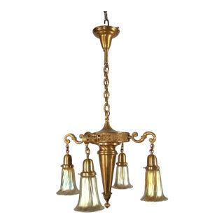 """MILLER"" Colonial Revival Light Fixture (4-Light)"