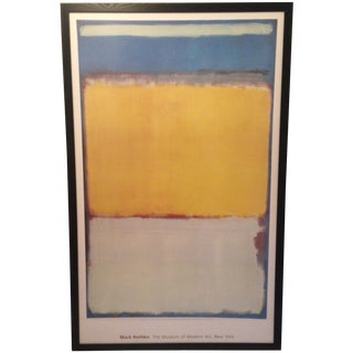 "Mark Rothko ""Number 10"" Print"
