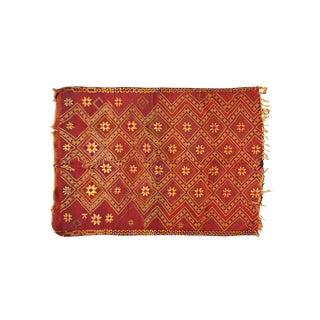 Vintage Moroccan Beni Ourain Rug - 5′2″ × 6′2″
