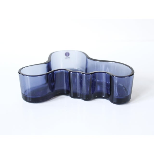 Image of Iittala Alvar Aalto Savoy Glass Dish / Candle Holder