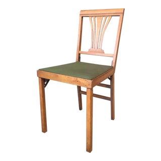 Leg-O-Matic Folding Chair