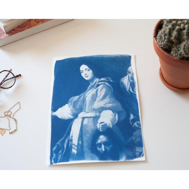 Cyanotype Print - Allori Painting of Judit - Image 2 of 4