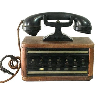 1920s Butlers Phone House Sound System