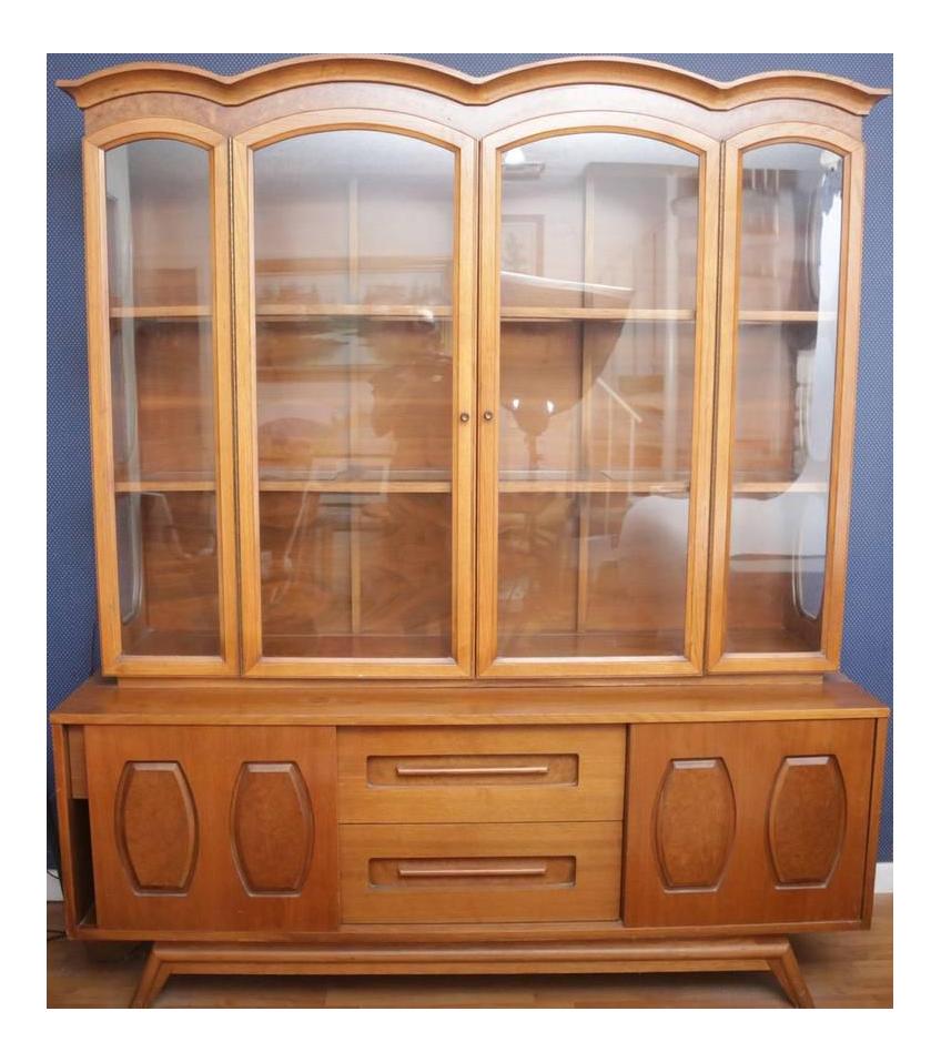 midcentury modern china cabinet