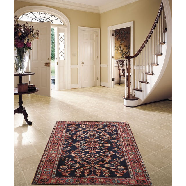 """Pasargad Hand-Knotted Red Saruk Rug - 2'3"""" X 4'6"""" - Image 2 of 2"""