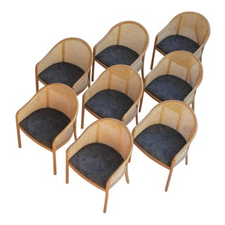 Ward Bennett Landmark Chairs - Set of 8