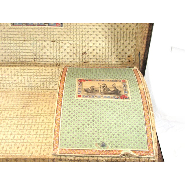 100 Year Old Saratoga Petite Dome Top Doll Trunk - Image 4 of 11