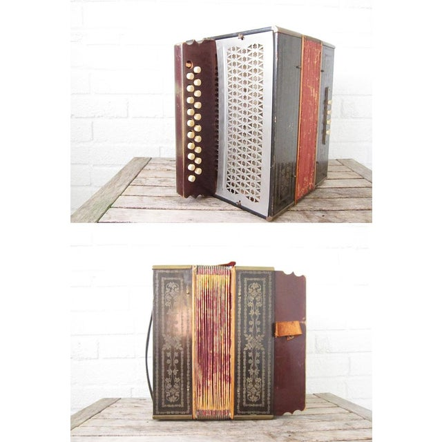 Vintage Beaver Melodeon Accordion - Image 6 of 7