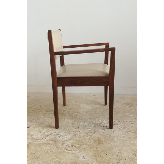 Jens risom dining arm chairs set of 4 chairish - Jens risom dining chairs ...