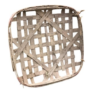 Wood Planked Tobacco Basket