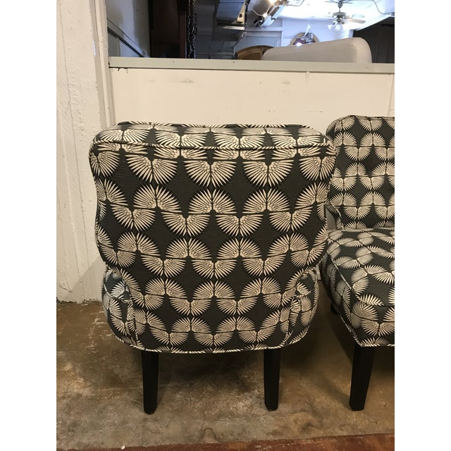 Vintage Mid-Century Slipper Chairs - A Pair - Image 7 of 9