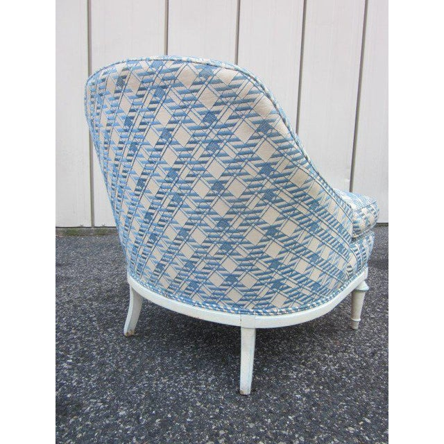 Pair of French Fauteuils / Slipper Chairs - Image 4 of 6