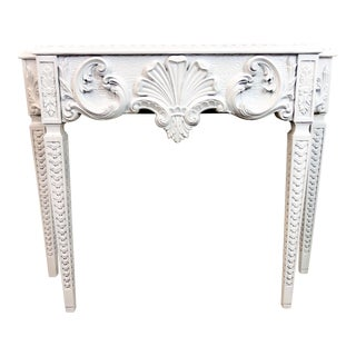 Hollywood Regency Italian Console Table