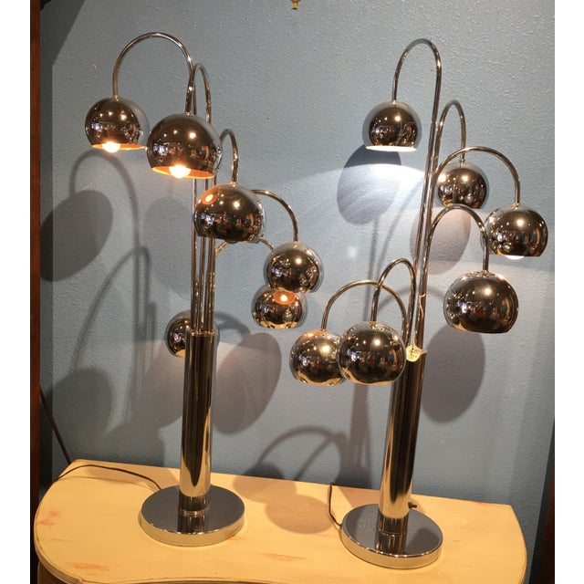 Sonneman Vintage 1960's Lamps - A Pair - Image 3 of 5