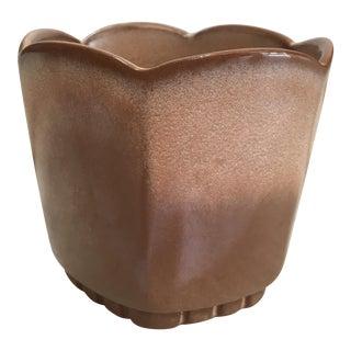 Vintage Hexagonal Frankoma Pottery Planter