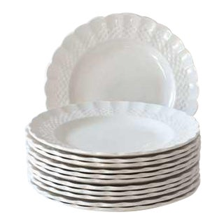 Spode Copeland Woven Pattern Side Plate - Set of 12