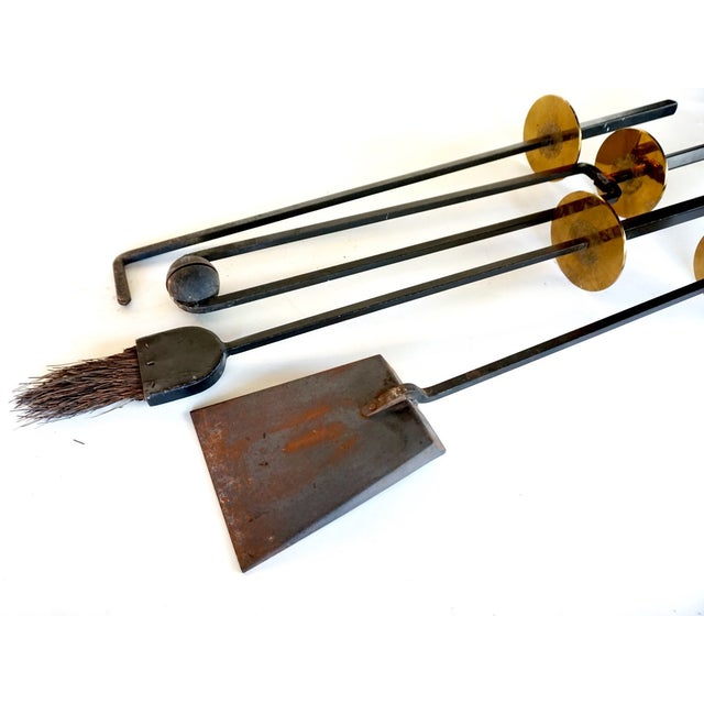 Mel Bogart 1950s Fire Tool Set - Image 5 of 7